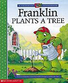 Franklin plants a tree