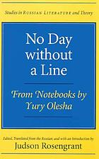 No day without a line : from notebooks