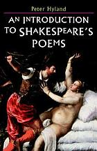 An introduction to Shakespeare's poems
