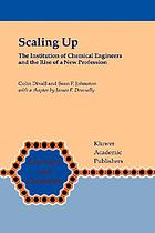 Scaling up : the Institution of Chemical Engineers and the rise of a new profession