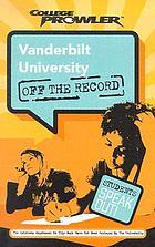 Vanderbilt University : Nashville, Tennessee