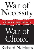 War of necessity : war of choice
