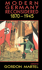 Modern Germany reconsidered, 1870-1945
