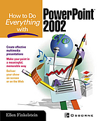 How to do everything with PowerPoint 2002