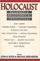 Holocaust : religious and philosophical implications