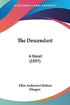 The descendant; a novel