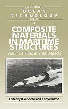 Composite materials in maritime structuresComposite Materials in Maritime Structures
