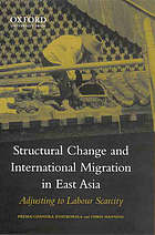 Structural change and international migration in East Asia : adjusting to labour scarcity