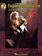 The best of Yngwie Malmsteen : [a step-by-step breakdown of his guitar styles and techniques
