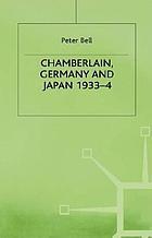 Chamberlain, Germany and Japan, 1933-4