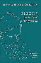 Elegies for the dead in Cyrenaica