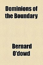 Dominions of the boundary
