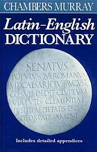 Chambers/Murray Latin-English dictionary