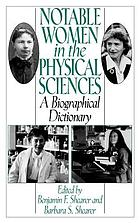 Notable women in the physical sciences : a biographical dictionary