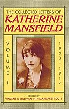 The collected letters of Katherine MansfieldThe collected letters of Katherine MansfieldThe collected letters of Katherine MansfieldCollected lettersThe collected letters of Katherine MansfieldThe collected letters of Katherine Mansfield