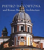Pietro da Cortona and Roman Baroque architecture