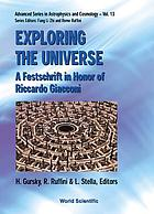 Exploring the universe : a festschrift in honor of Riccardo Giacconi