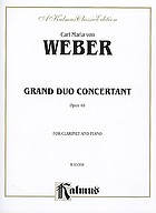 Grand duo concertant : op. 48, for clarinet and piano