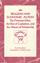 Religion and economic action