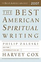 The best American spiritual writing 2007