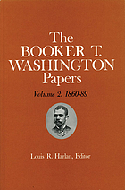The Booker T. Washington papers Volume 2, 1860-89