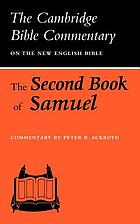 The second book of Samuel : commentary