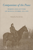 Companions of the Peace : diaries and letters of Monica Storrs, 1931-1939