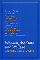 Women, the state, and welfare