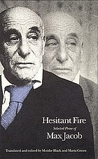 Hesitant fire : selected prose of Max Jacob