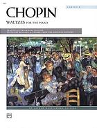 Waltzes : for the piano
