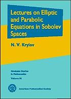 Lectures on elliptic and parabolic equations in Sobolev spaces