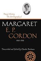 Pansy's history : the autobiography of Margaret E.P. Gordon, 1866-1966