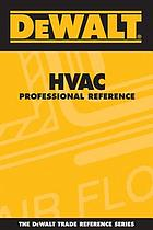HVAC professional reference