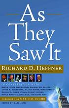 As they saw it : fifty years of conversations from the Open mind