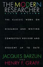 The modern researcher