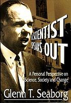 A scientist speaks out : a personal perspective on science, society and change