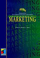 The IEBM encyclopedia of marketing