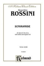 Overture to the opera Semiramide