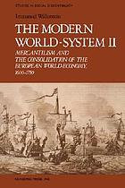 Mercantilism and the consolidation of the European world-economy, 1600-1750