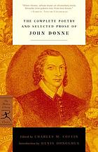 John Donne : poetry and prose