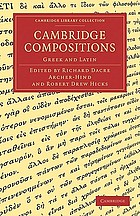 Cambridge compositions : Greek and Latin