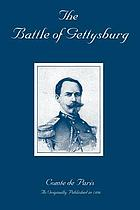 The battle of Gettysburg, from the History of the civil war in America