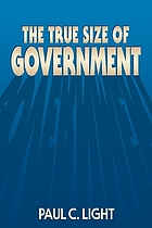 The true size of government