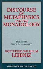 Discourse on metaphysics