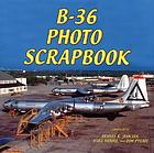 B-36 photo scrapbook