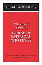 German satirical writings
