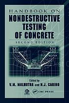 CRC handbook on nondestructive testing of concrete