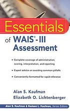 The essentials of WAIS-III assessment