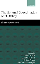 The national co-ordination of EU policy : the domestic level