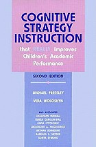 Cognitive strategy instruction that really improves children's academic performance